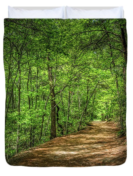 Path Less Travelled Duvet Cover