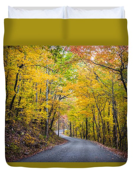 Path Of Many Colors Duvet Cover