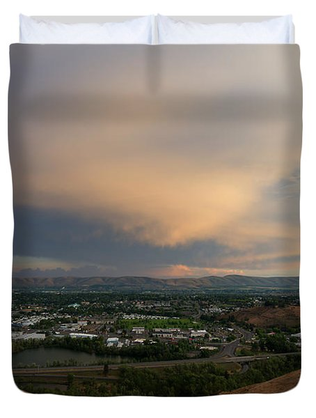 Path Of The Storm Duvet Cover