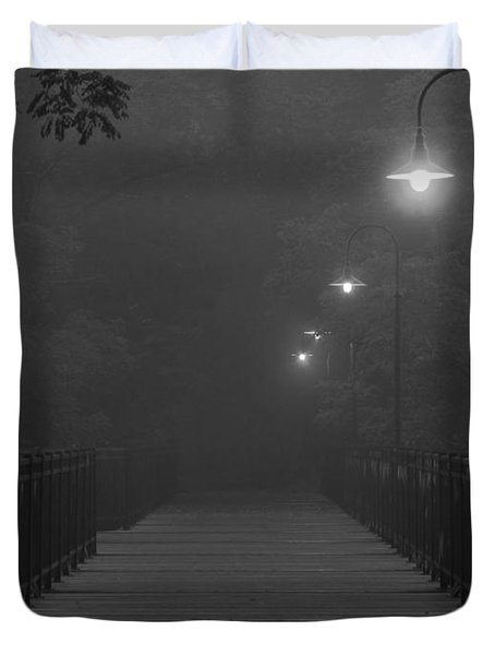 Path To Darkness Duvet Cover