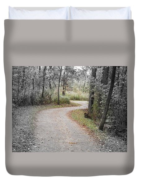Path To Discovery Duvet Cover
