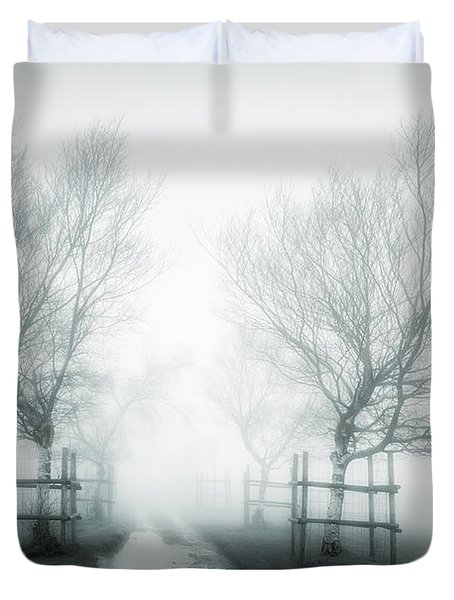 Path To Nowhere II Duvet Cover