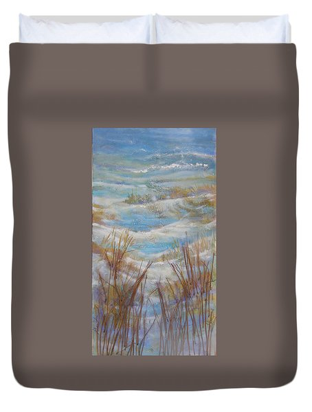 Path To Peace Duvet Cover