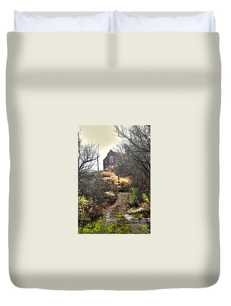 Path To Salvation Duvet Cover