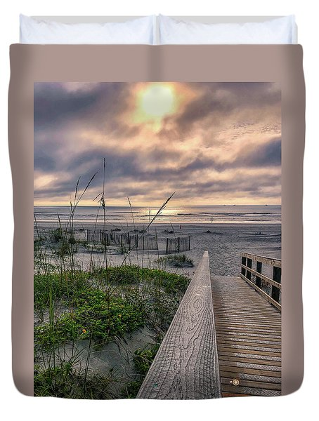 Path To Serenity Duvet Cover