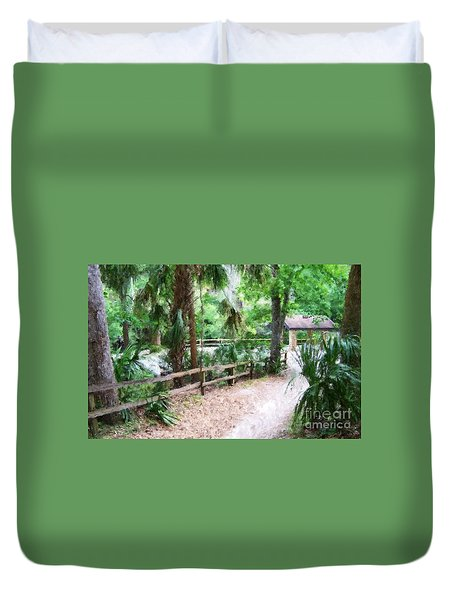 Path To Shade Duvet Cover