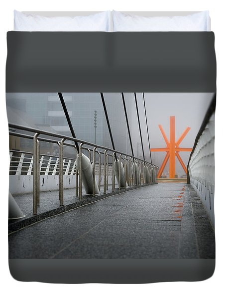 Path To The Calling Duvet Cover