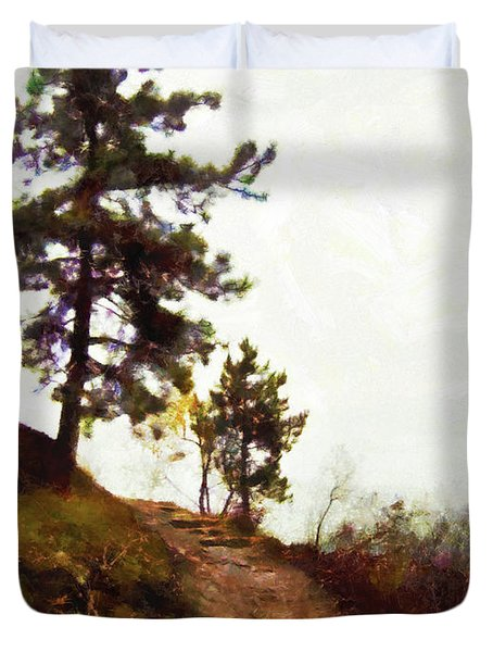 Path To The Clouds Duvet Cover