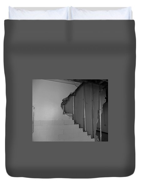 Path To The Past Duvet Cover