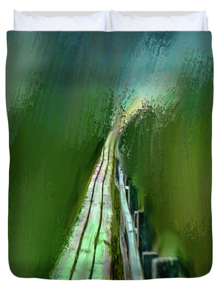 Path To The Unknown #h5 Duvet Cover