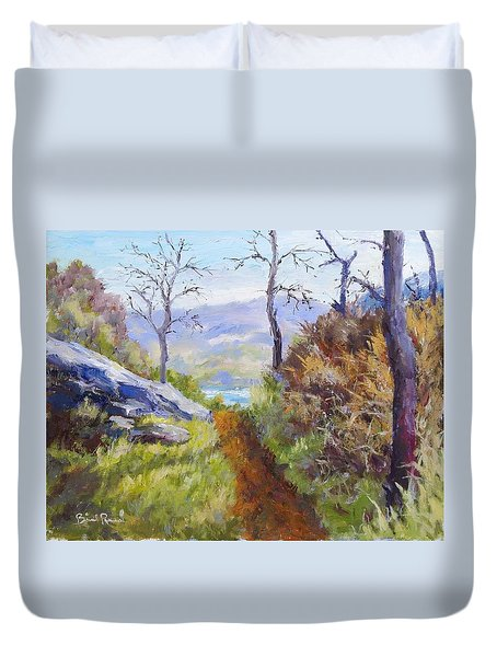 Path To The Water Duvet Cover