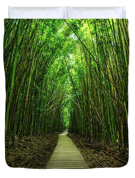 Path To Zen Duvet Cover