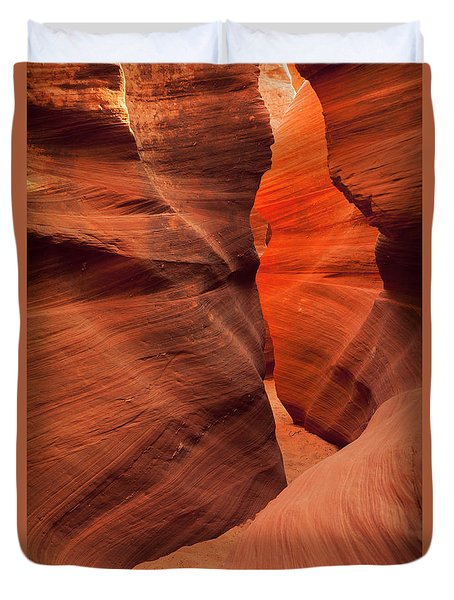 Pathway Duvet Cover by David Cote