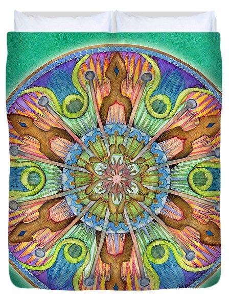 Patience Mandala Duvet Cover