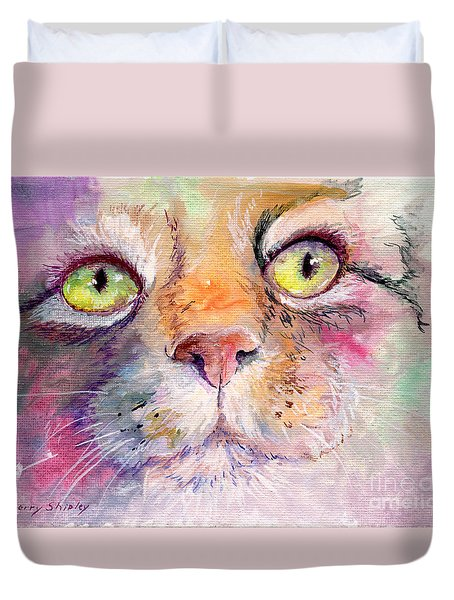 Patience Duvet Cover by Sherry Shipley