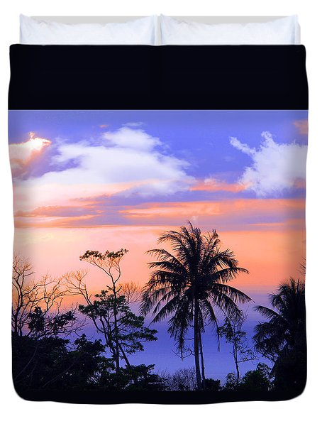 Patong Thailand Duvet Cover