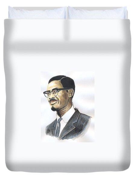 Patrice Emery Lumumba Duvet Cover