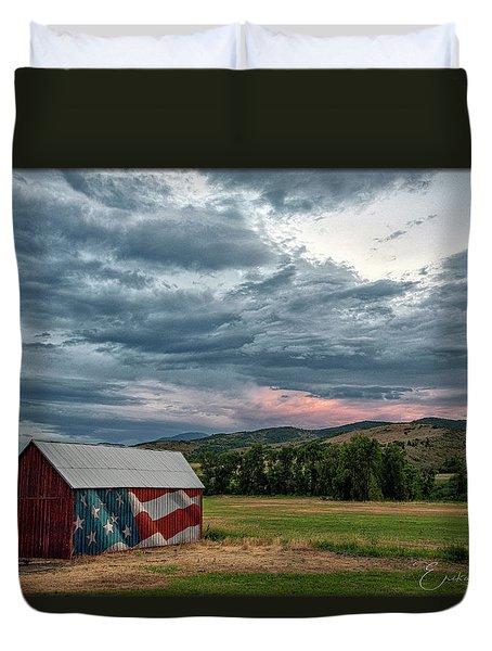 Patriotic Duvet Cover