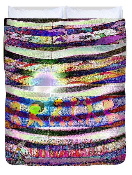 Pattern 255 Joy Duvet Cover