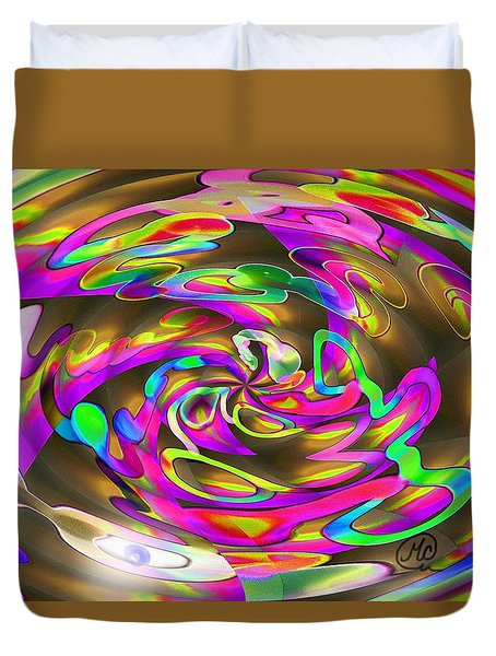 Pattern 269 _ Wired Duvet Cover