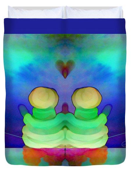 Pattern 290 _ Heart Duvet Cover
