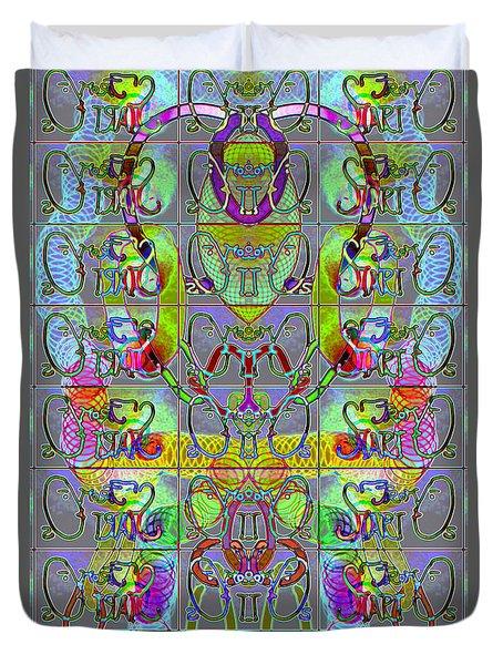 Pattern 296 _ Start From Zeros Duvet Cover