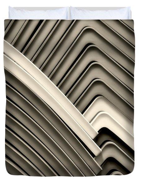 Duvet Cover featuring the photograph Pattern by Joe Bonita
