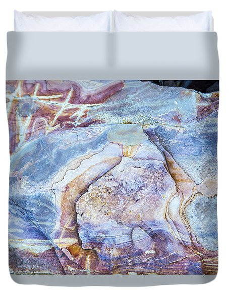 Patterns In Rock 2 Duvet Cover