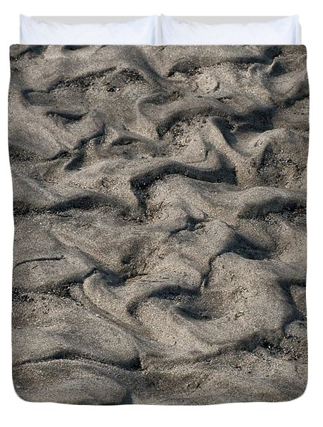 Patterns In Sand 6 Duvet Cover