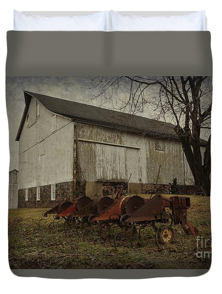 Patterson Farm  Duvet Cover