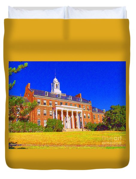 Patterson Hall  Duvet Cover