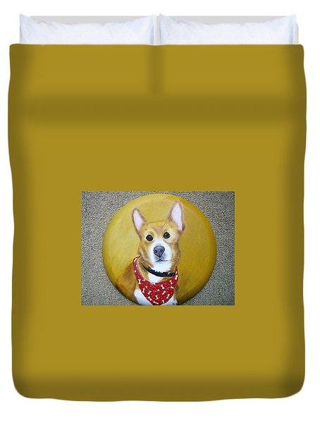 Patti's Grand-dog Duvet Cover