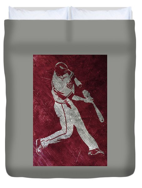 Paul Goldschmidt Arizona Diamondbacks Art Duvet Cover