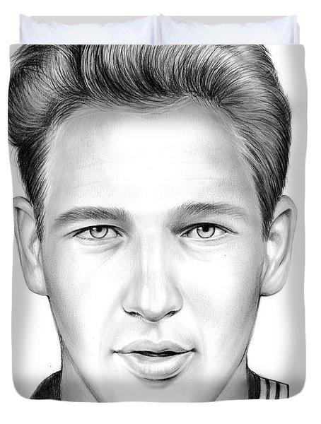 Paul Newman Duvet Cover