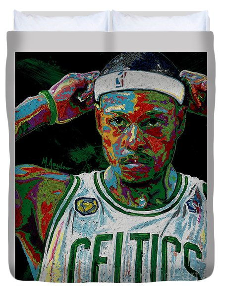 Paul Pierce Duvet Cover