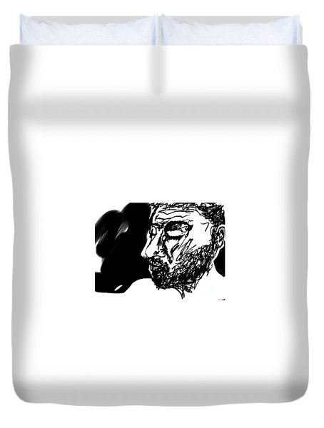 Paul Ramnora Self-portrait Duvet Cover