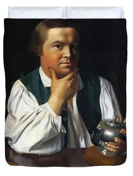 Paul Revere 1770 Duvet Cover