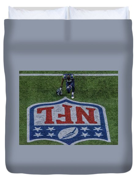 Paul Richarson Nfl Duvet Cover
