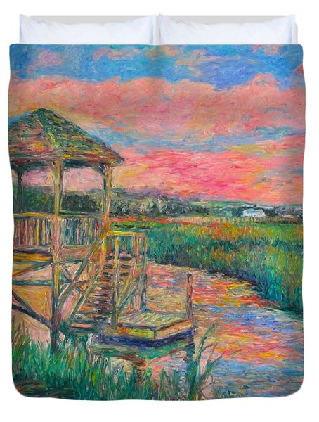 Pawleys Island Atmosphere Stage Two Duvet Cover