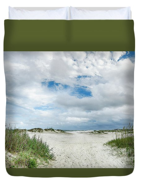 Pawleys Island  Duvet Cover by Kathy Baccari