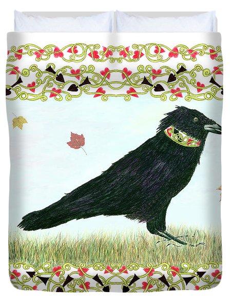 Pawn In Autumn Duvet Cover