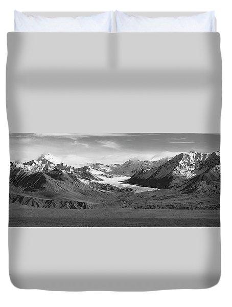 Paxson Glacier Wide Duvet Cover