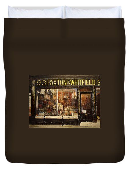Paxton Whitfield .london Duvet Cover by Tomas Castano