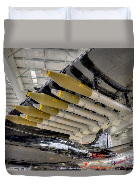Payload Duvet Cover