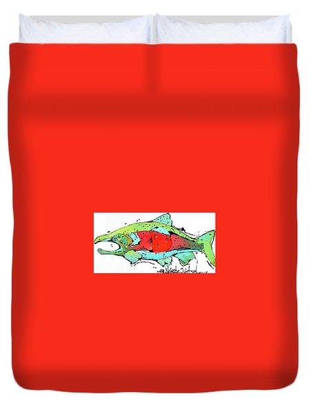 Payne The Salmon Duvet Cover