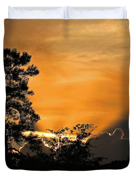 Payson Sunset Duvet Cover