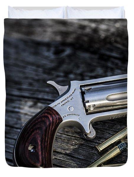 Pea Shooter Duvet Cover