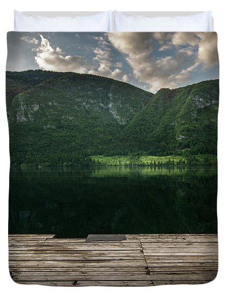 Peace And Clarity Duvet Cover