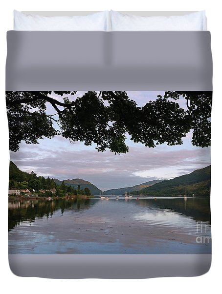 Peace And Serenity Duvet Cover