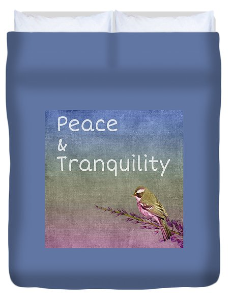 Peace And Tranquility  Duvet Cover